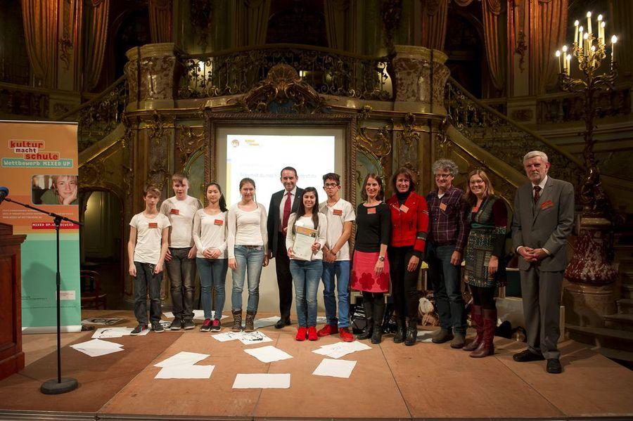 FES Theaterprojekt gewinnt den MIXED UP Länderpreis Hessen