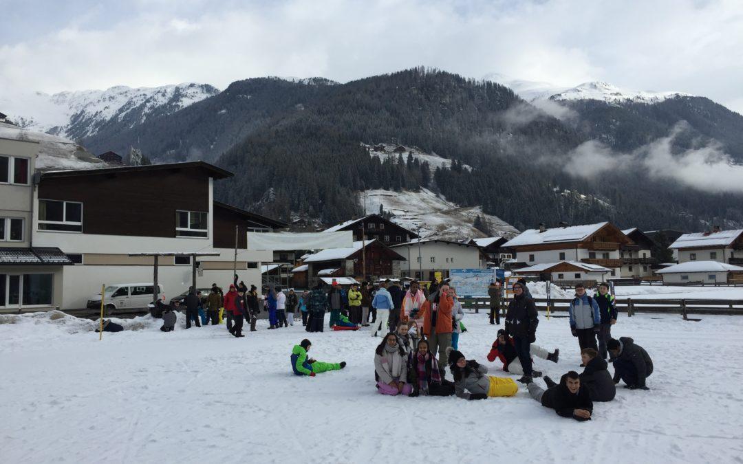Skifahrer aus Jahrgang 7 sind gut angekommen !