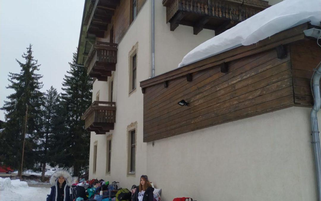 Skifahrer sind gut angekommen