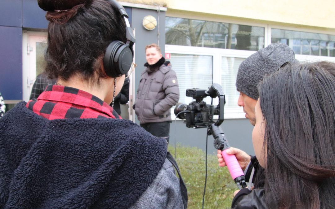 Filmprojekt: die Produktion