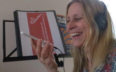 Orchester trifft sich zur Online-Probe