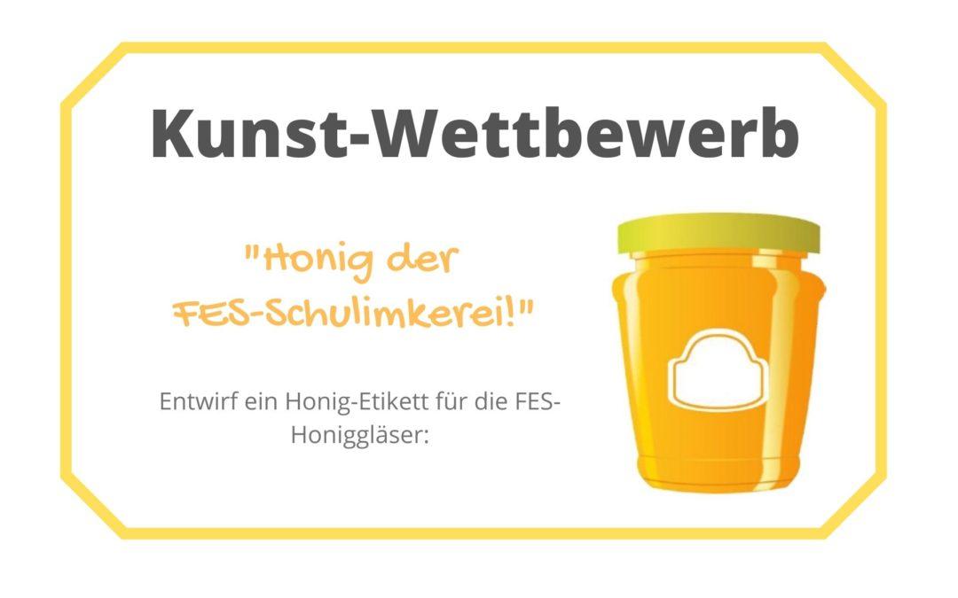 Design für die FES-Honiggläser gesucht