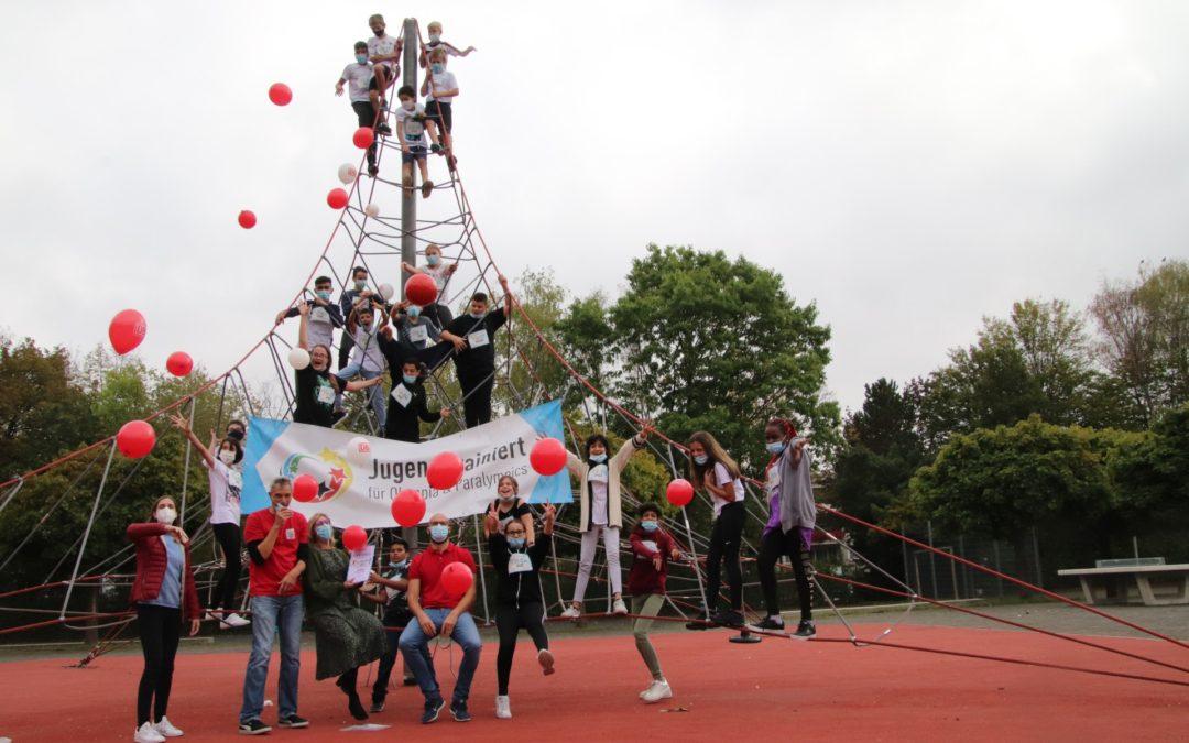 FES gewinnt mit Schnappschuss beim Aktionstag Jugend trainiert für Olympia
