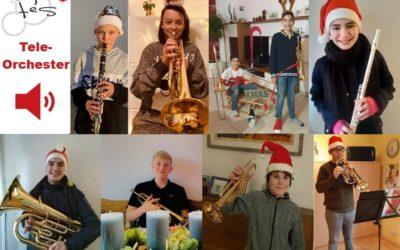 Das FES-Teleorchester wünscht frohe Weihnachten