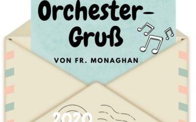 Brief in der Orchester-Pause